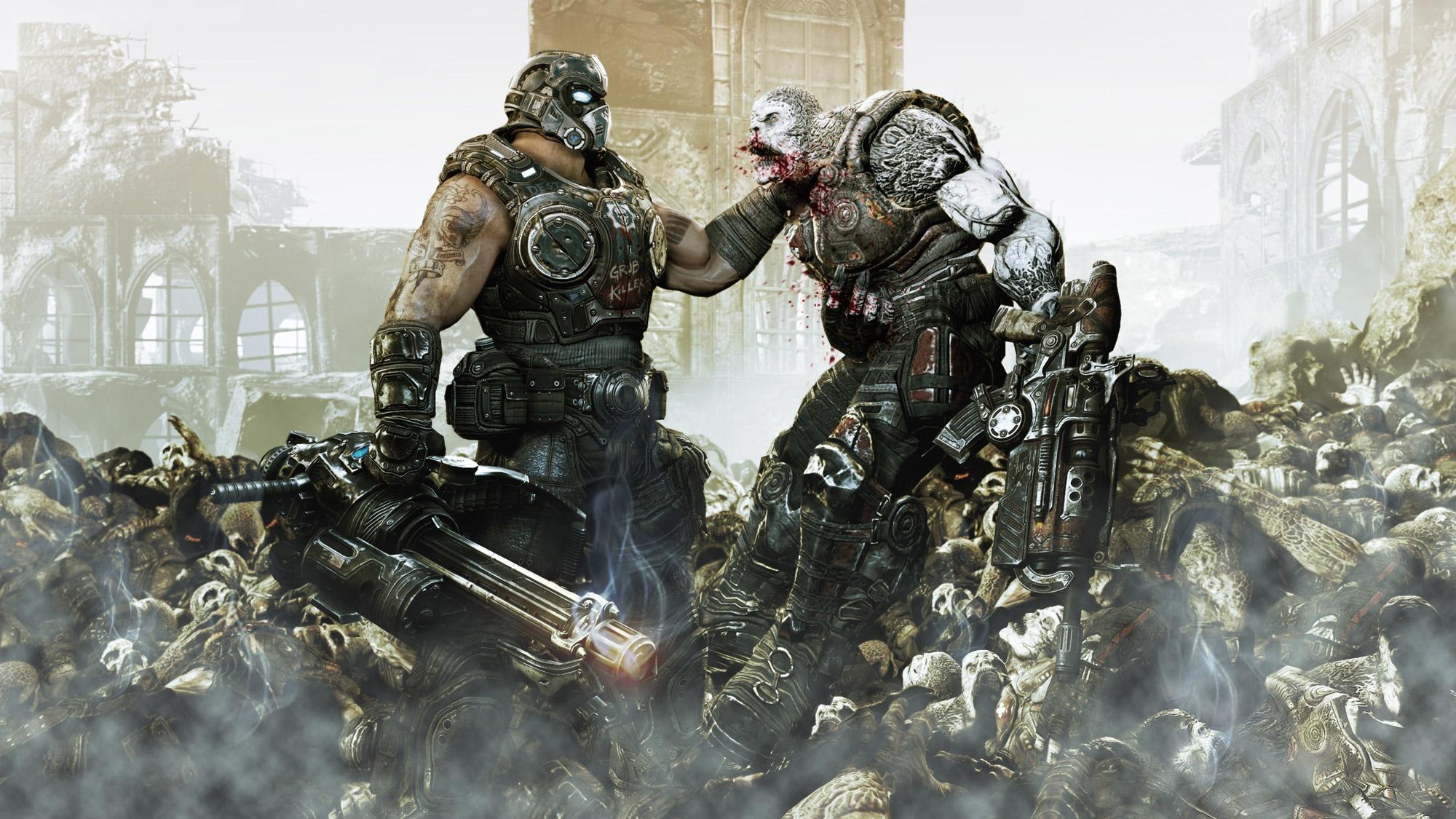 Microsoft agarra a marca Gears of War com unhas e dentes