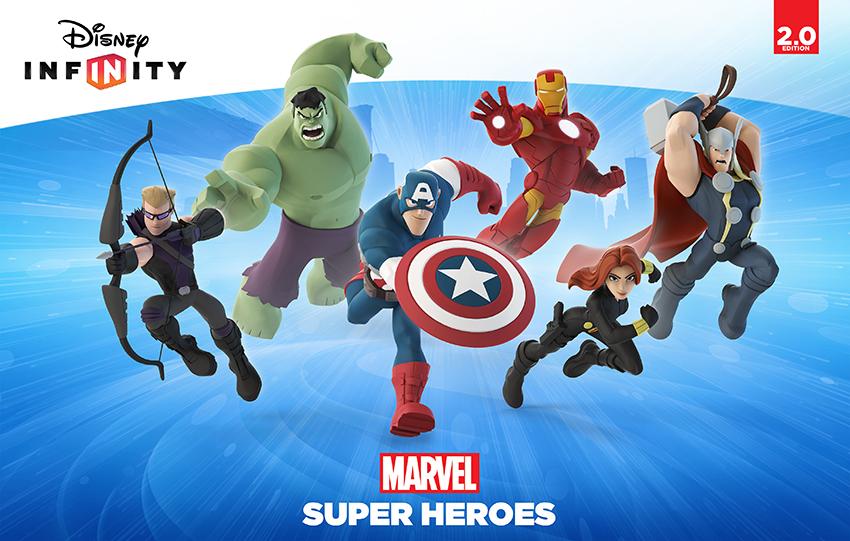 Os Heróis da Marvel chegaram ao Disney Infinity