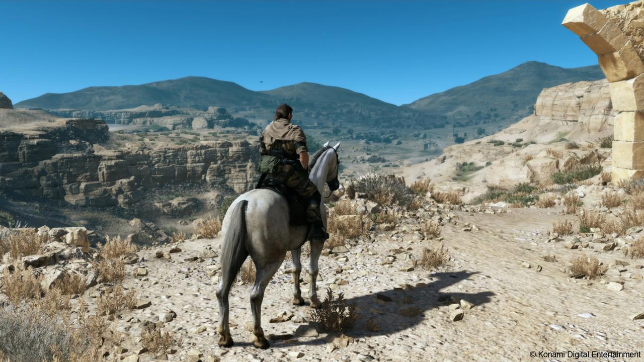 Trinta e três minutos de jogabilidade de Metal Gear V: Phantom Pain