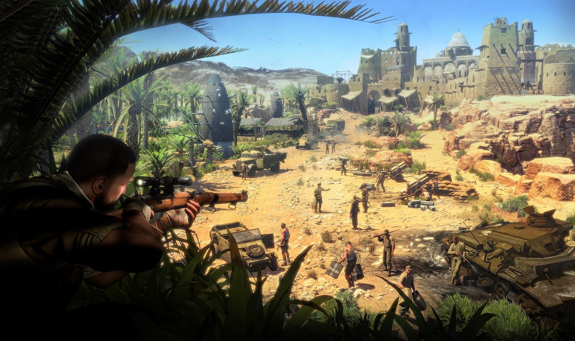 Sniper Elite V2 Remastered e outras novidades anunciadas