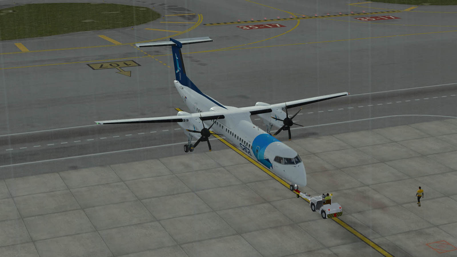 Simuladores: Majestic Dash 8 Q400 Pilot Edition - WASD