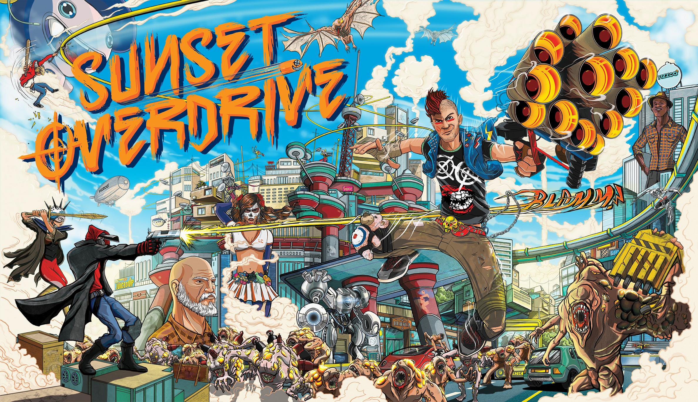 Sunset Overdrive anunciado para o PC