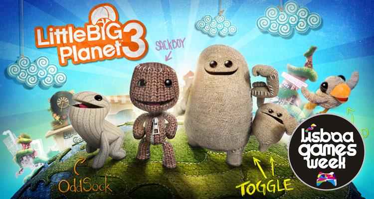 Lisboa Games Week – Apresentação LittleBig Planet 3