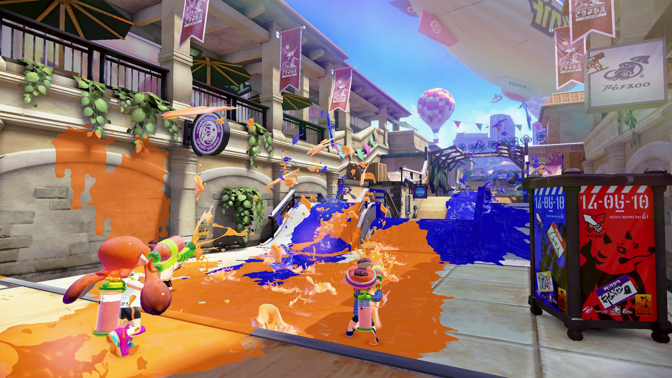 Nintendo quer que Splatoon faça pelos shooters o mesmo que Mario Kart fez pelos jogos de corrida + novos vídeos com gameplay (60FPS) Wiiu_splatoon_e3