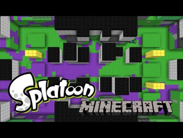 Modder traz Splatoon a Minecraft
