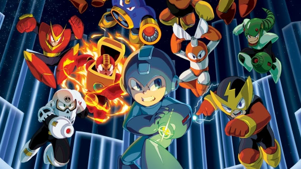 Capcom apresenta a Mega Man Legacy Collection