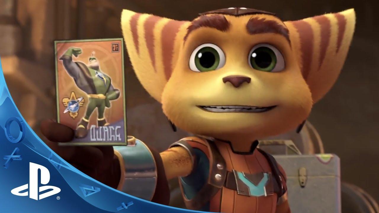 Novo Ratchet & Clank na PS4 e no Cinema