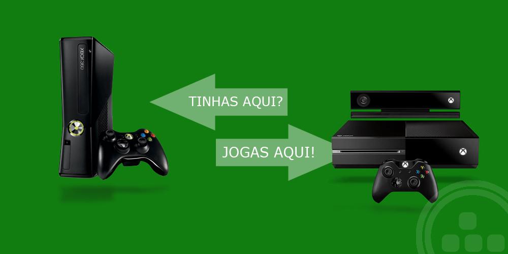 Actualização de jogos retrocompatíveis na Xbox One