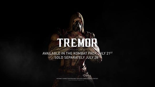 Mortal Kombat dá as boas vindas a Tremor