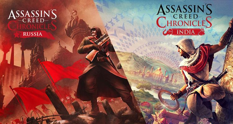 Ubisoft revela informação para Assassin's Creed Chronicles India e Russia