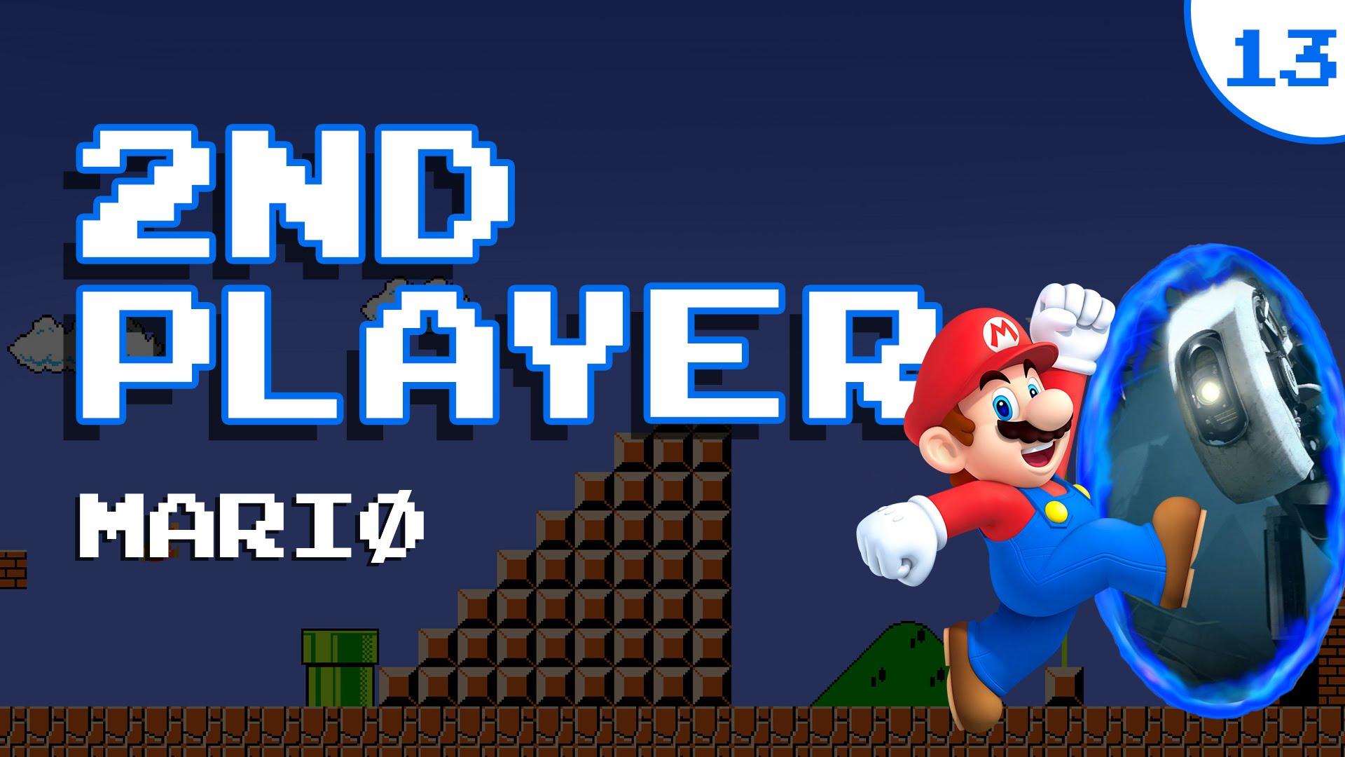 Super Mario tem um acessório novo criado pela Aperture Laboratories