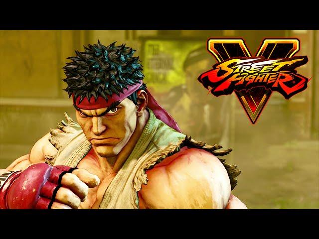 Street Fighter V vai receber um DLC dedicado à história da série