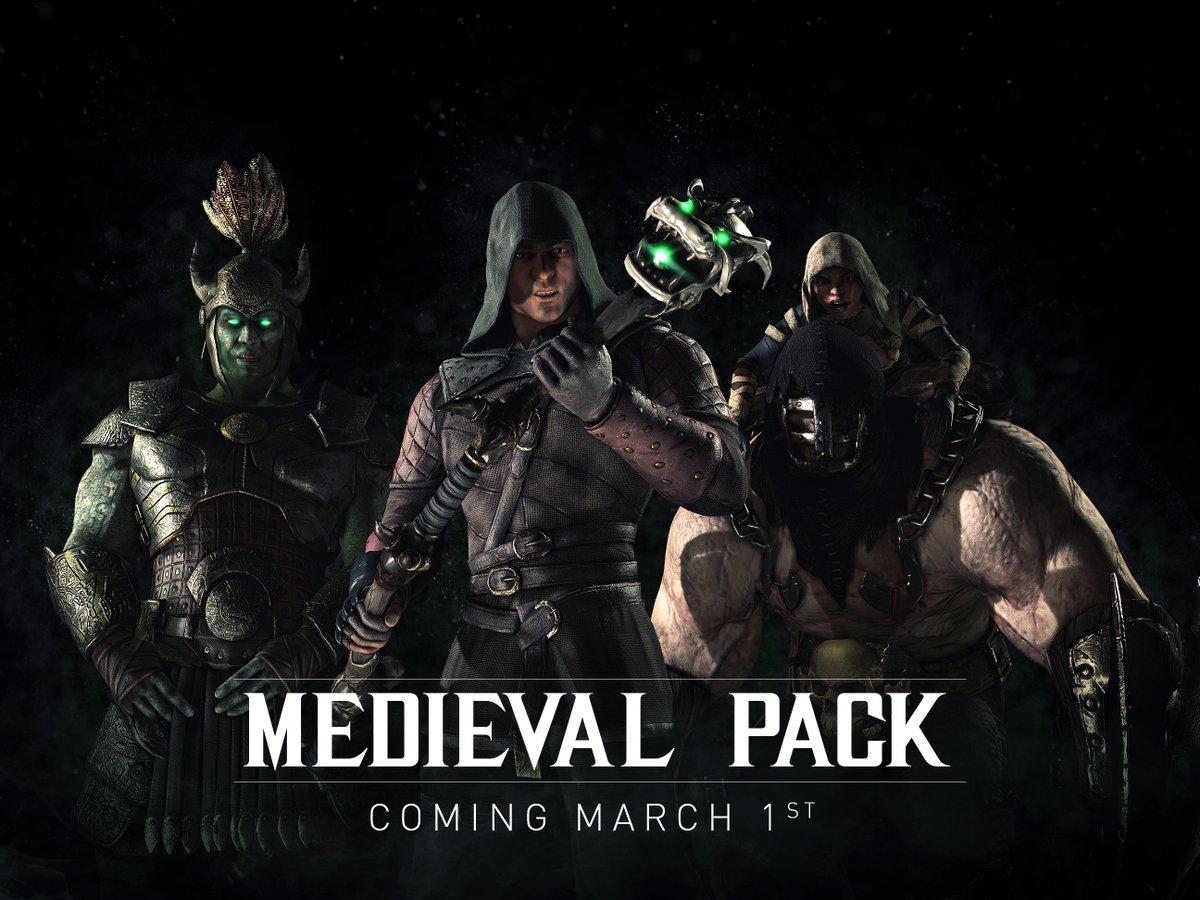 Mortal Kombat X recebe novo Skin Pack gratuito
