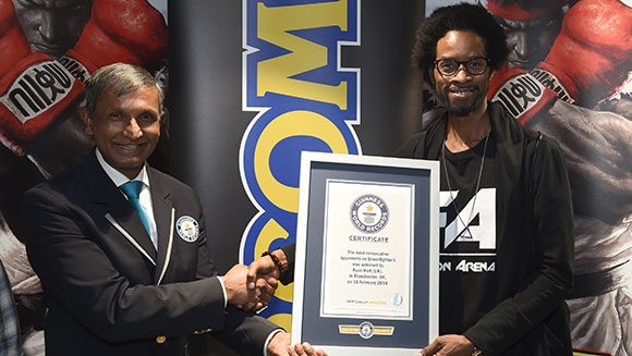 Já existe um Recorde do Guinness com Street Fighter V