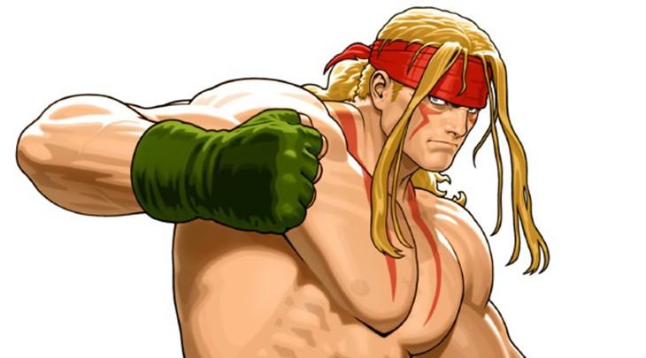 Alex é a primeira personagem adicional de Street Fighter V