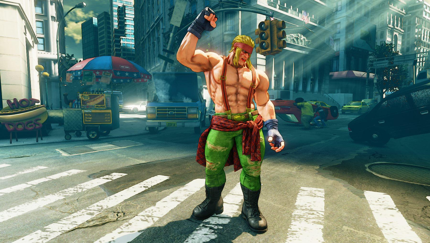 Conheçam as novidades da primeira actualização de Street Fighter V