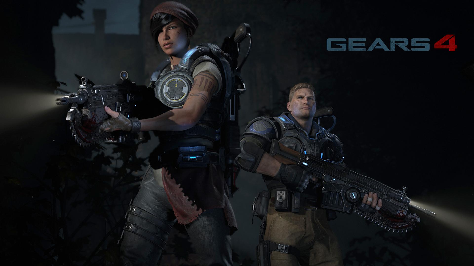As novas caras e vozes de Gears of War 4