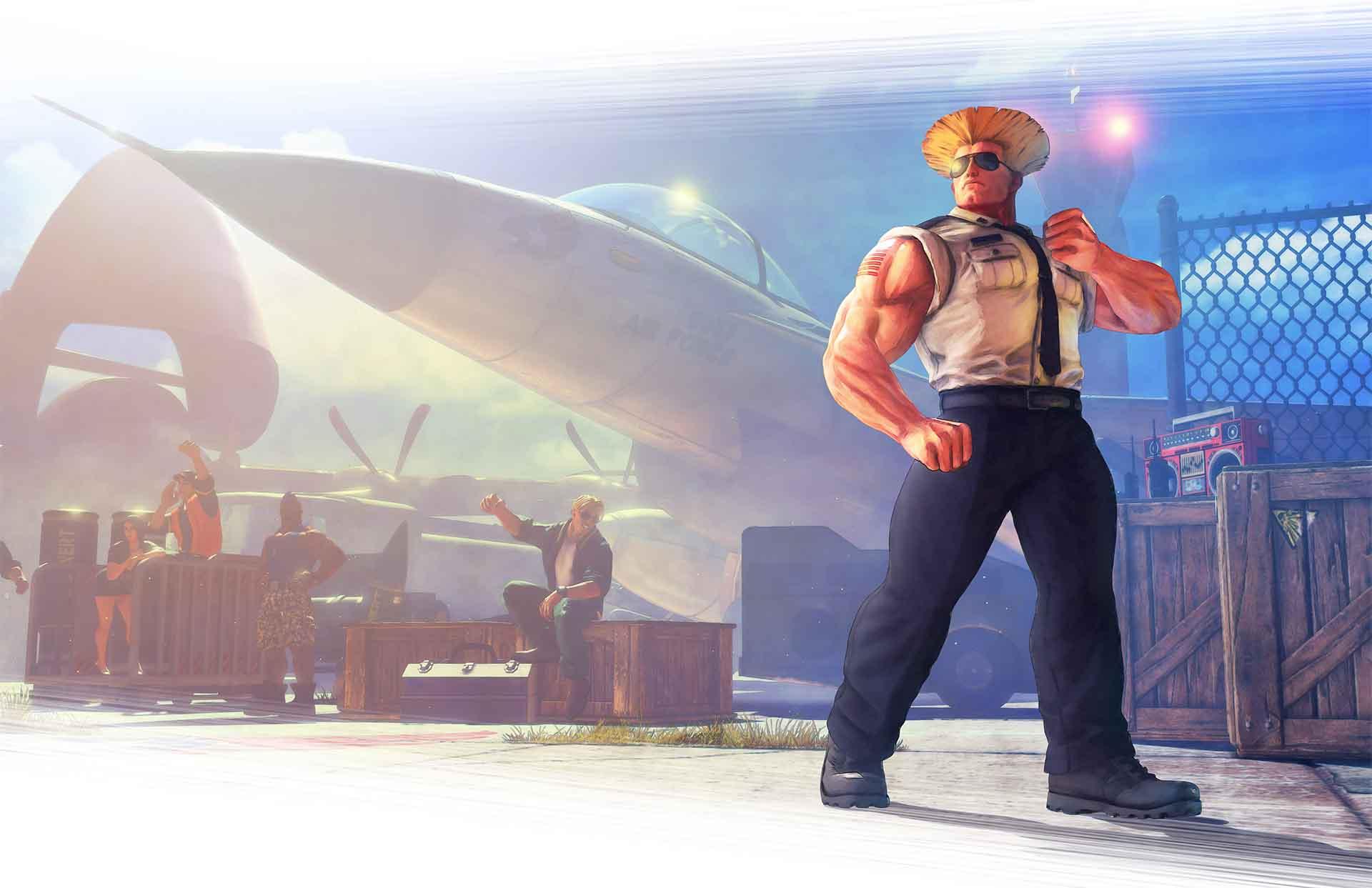 [Actualização] Guile é o próximo lutador a chegar ao Street Fighter V