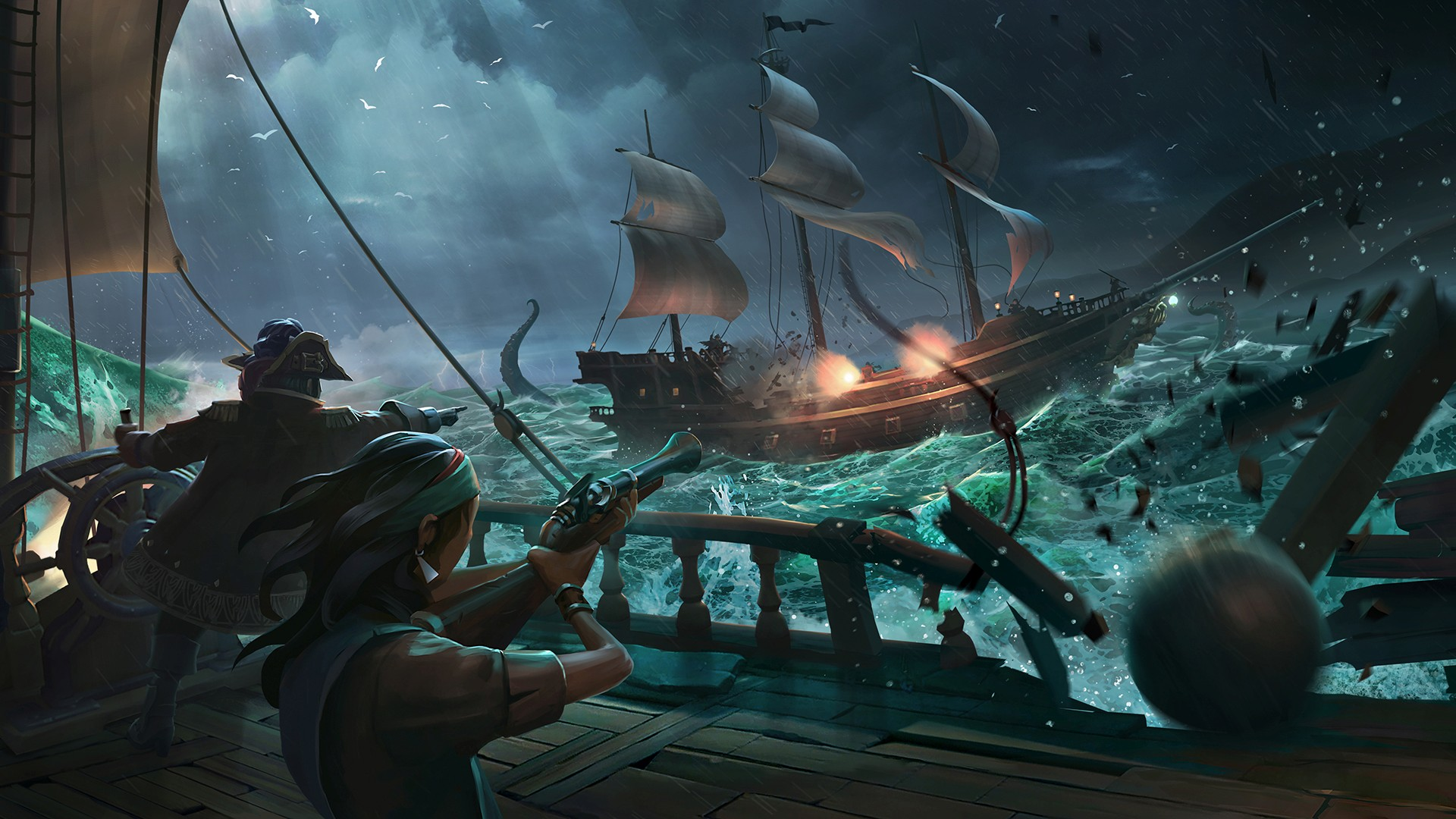 Nova Beta para Sea of Thieves arranca este mês