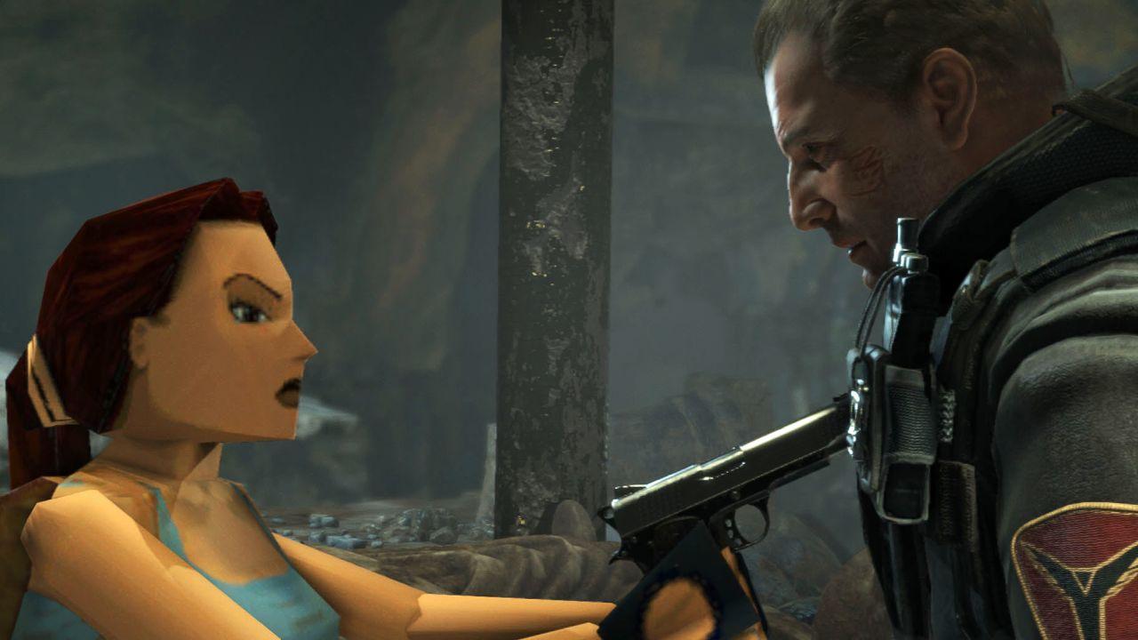 Detalhes para edição PS4 de Rise of the Tomb Raider