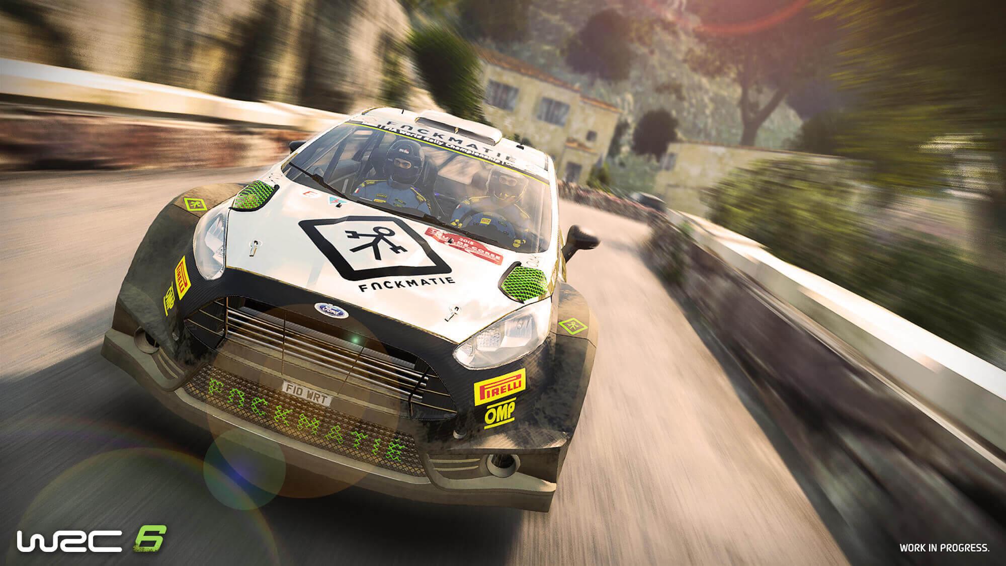 Novo trailer para WRC 6