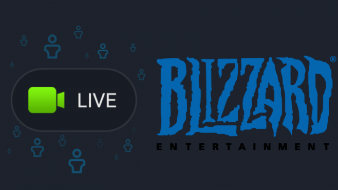 Blizzard Streaming: em directo no Facebook