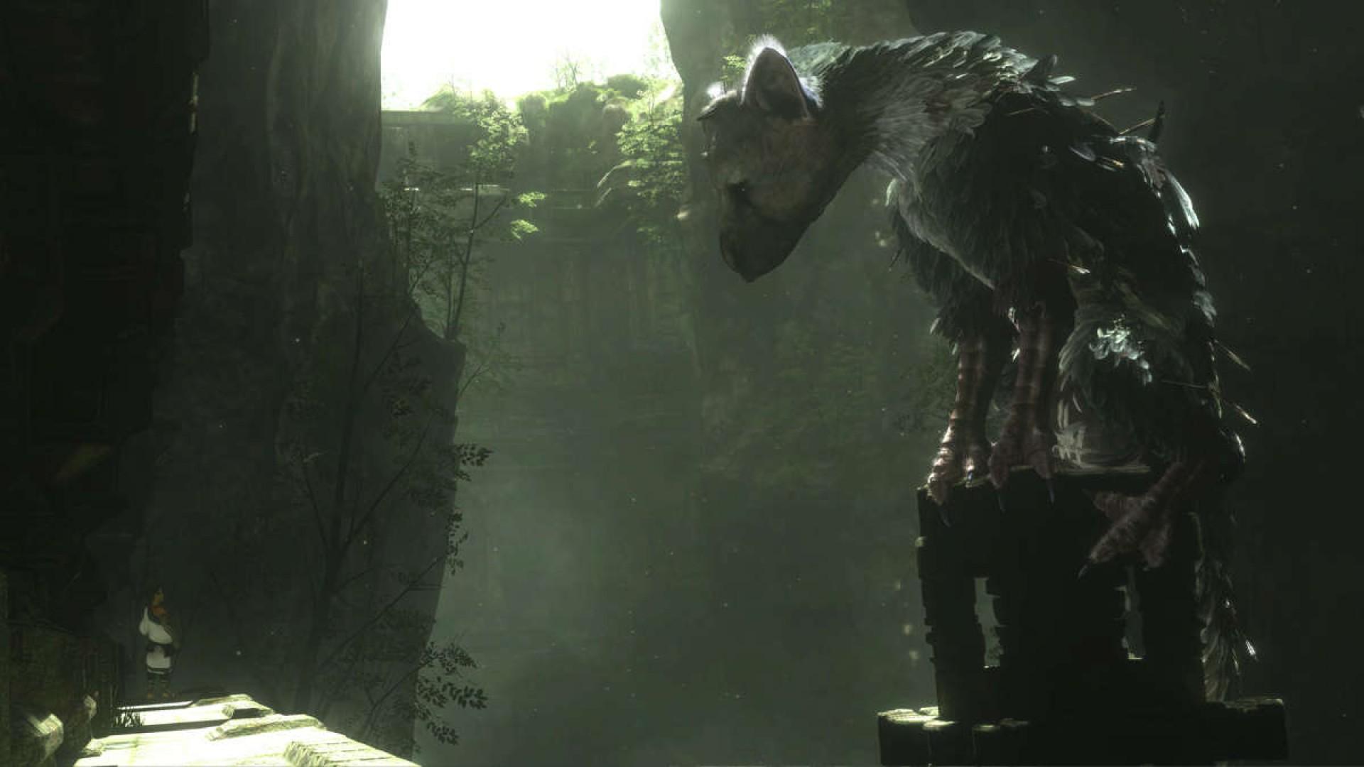 Vídeo de jogabilidade para The Last Guardian
