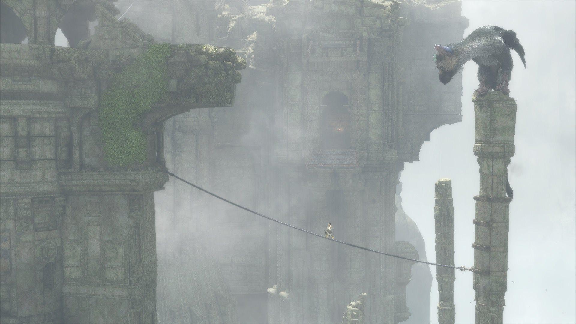 Vídeo de introdução para The Last Guardian