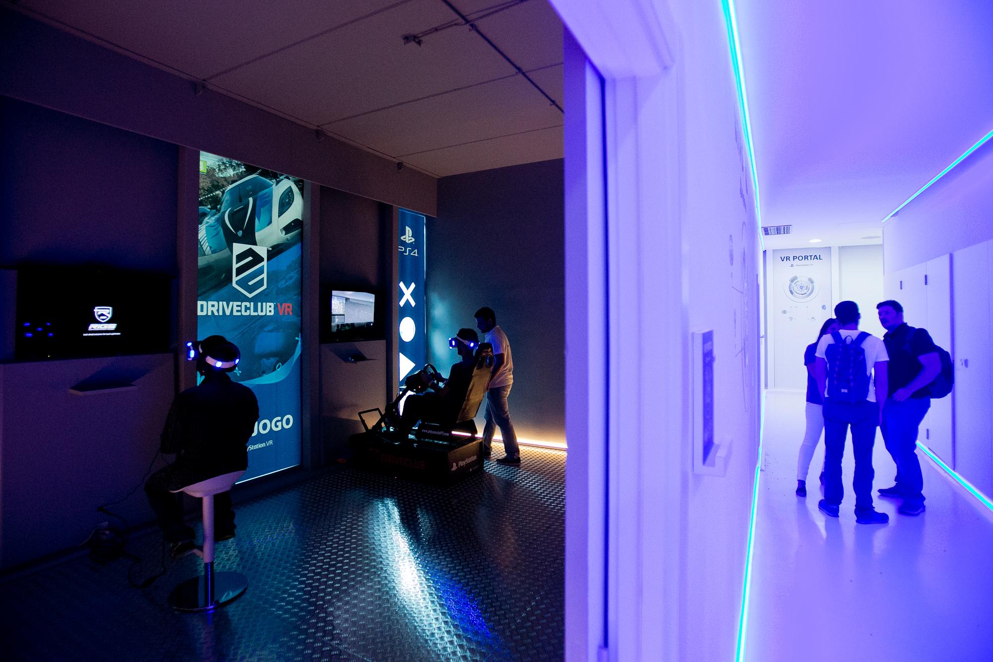 Visitámos o VR Portal, o novo espaço do PlayStation VR