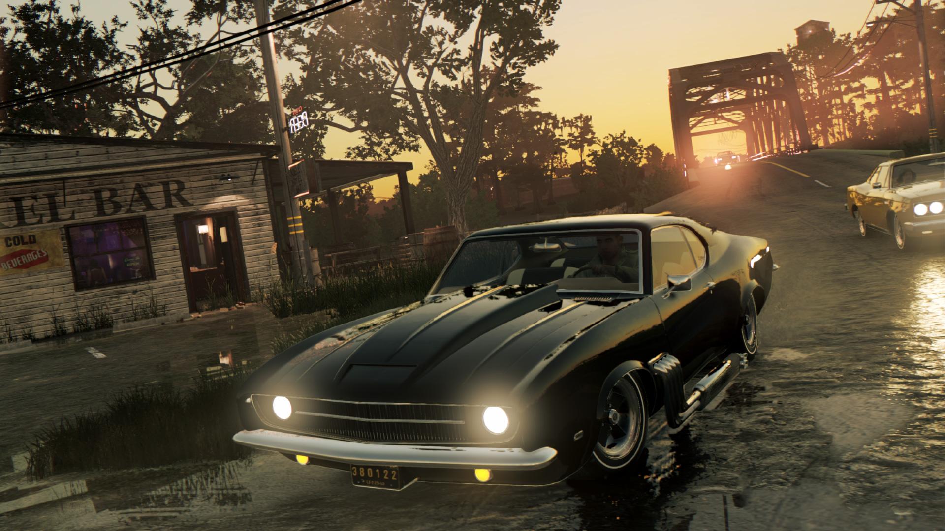 Já há corridas de automóveis em Mafia III