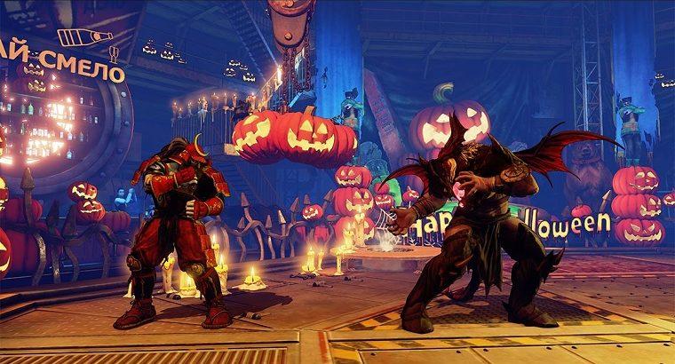 Comemora o Halloween com Street Fighter V