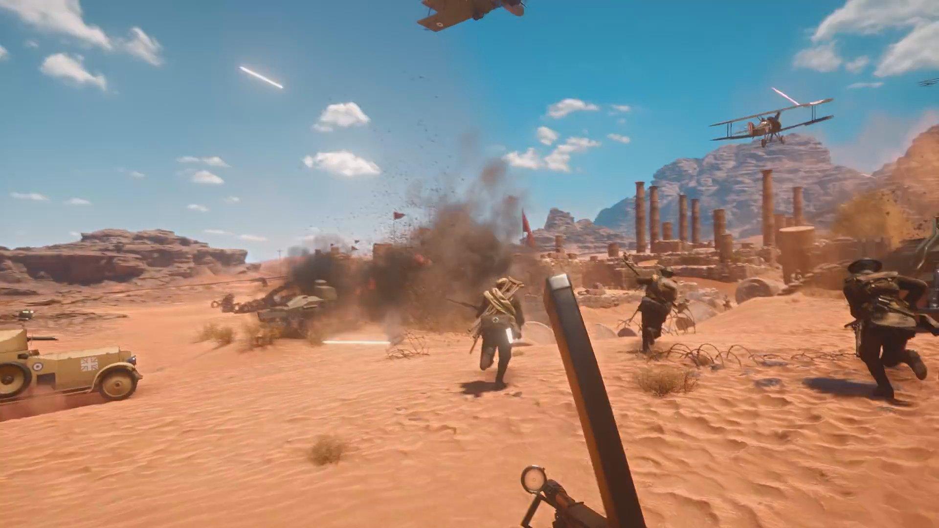 Actualização da Primavera para Battlefield 1