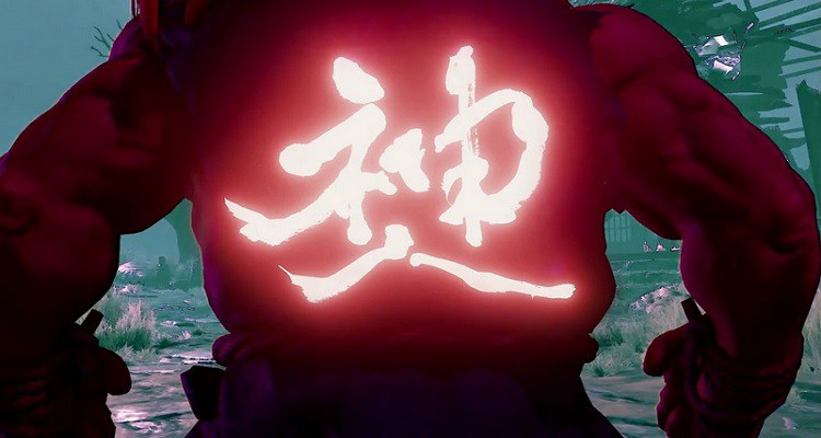 Akuma prepara-se para chegar ao Street Fighter V
