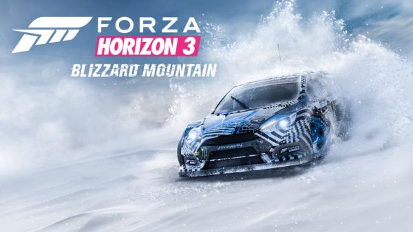 """Trailer festivo de """"Blizzard Mountain"""" para Forza Horizon 3"""