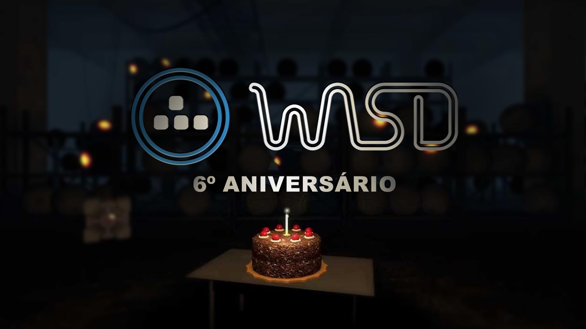 WASD celebra 6º Aniversário