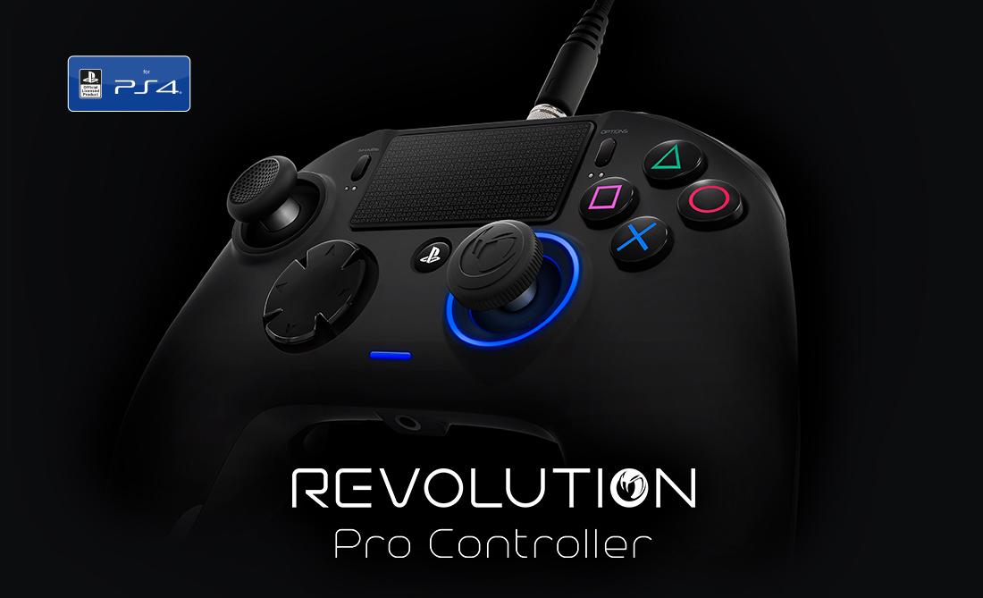 Já sabemos a data e o preço do Nacon Revolution para a PS4