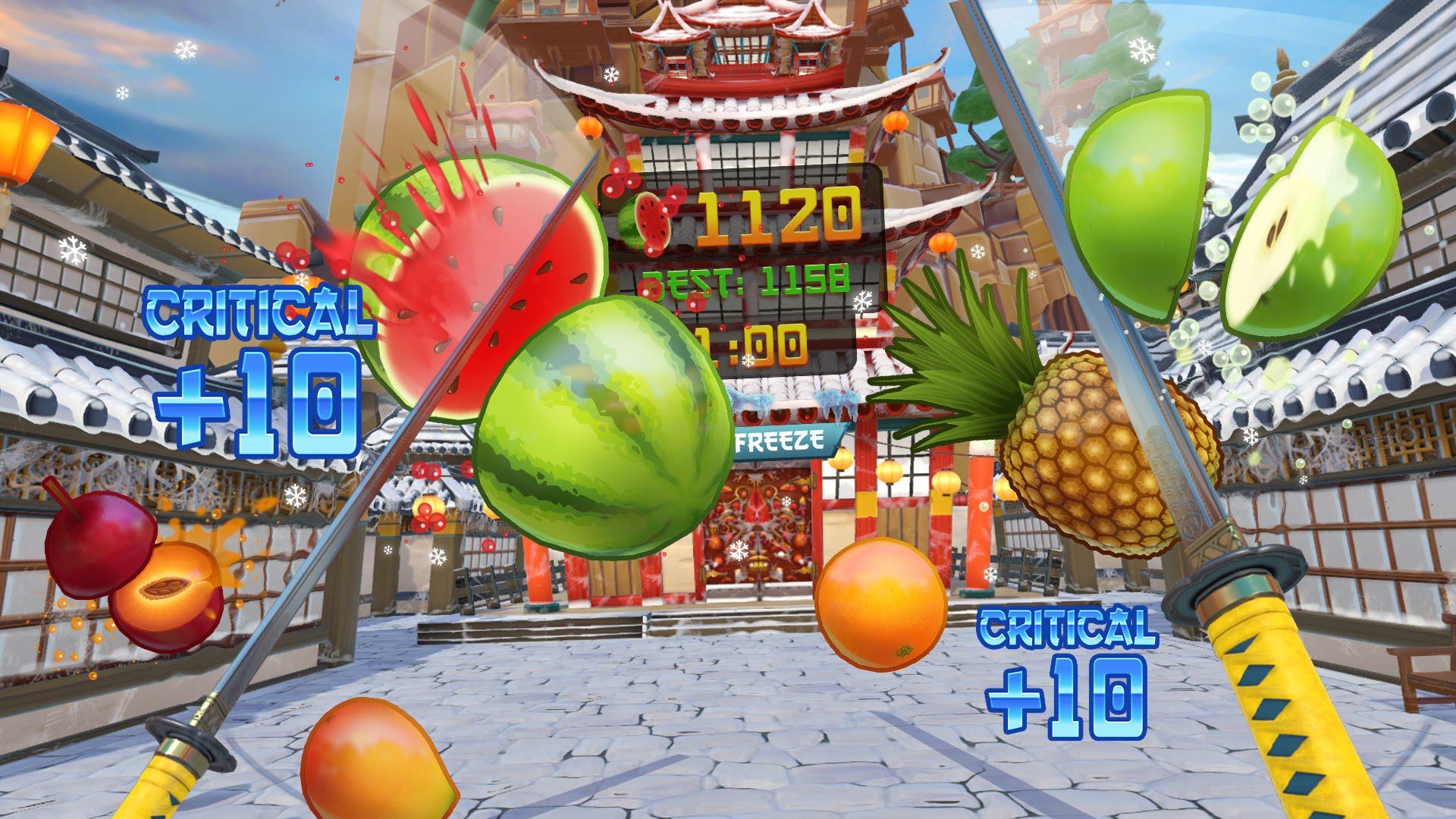 Fruit Ninja prepara-se para lançar fruta na PlayStation VR
