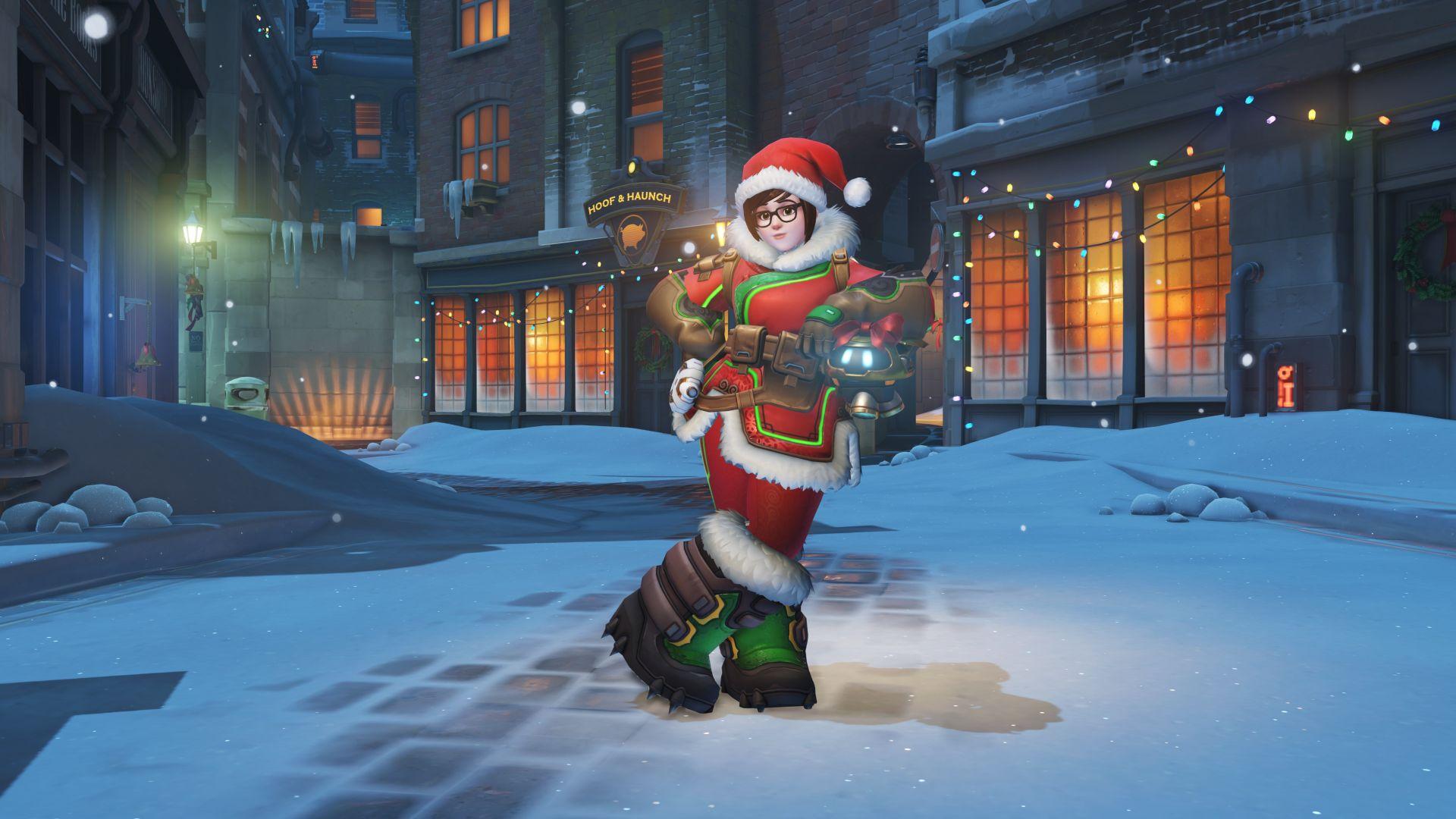 Também já é Natal em Overwatch