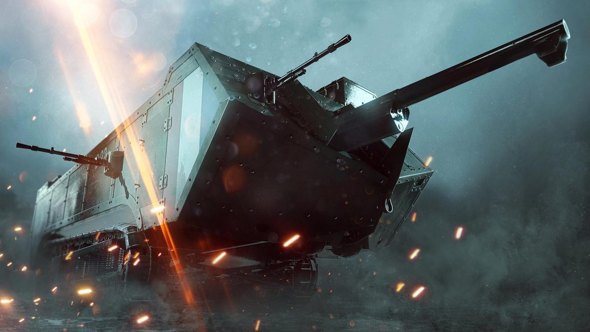Mais um mapa adicional para Battlefield 1