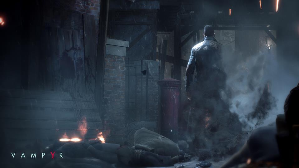 Novo trailer de Vampyr para a E3