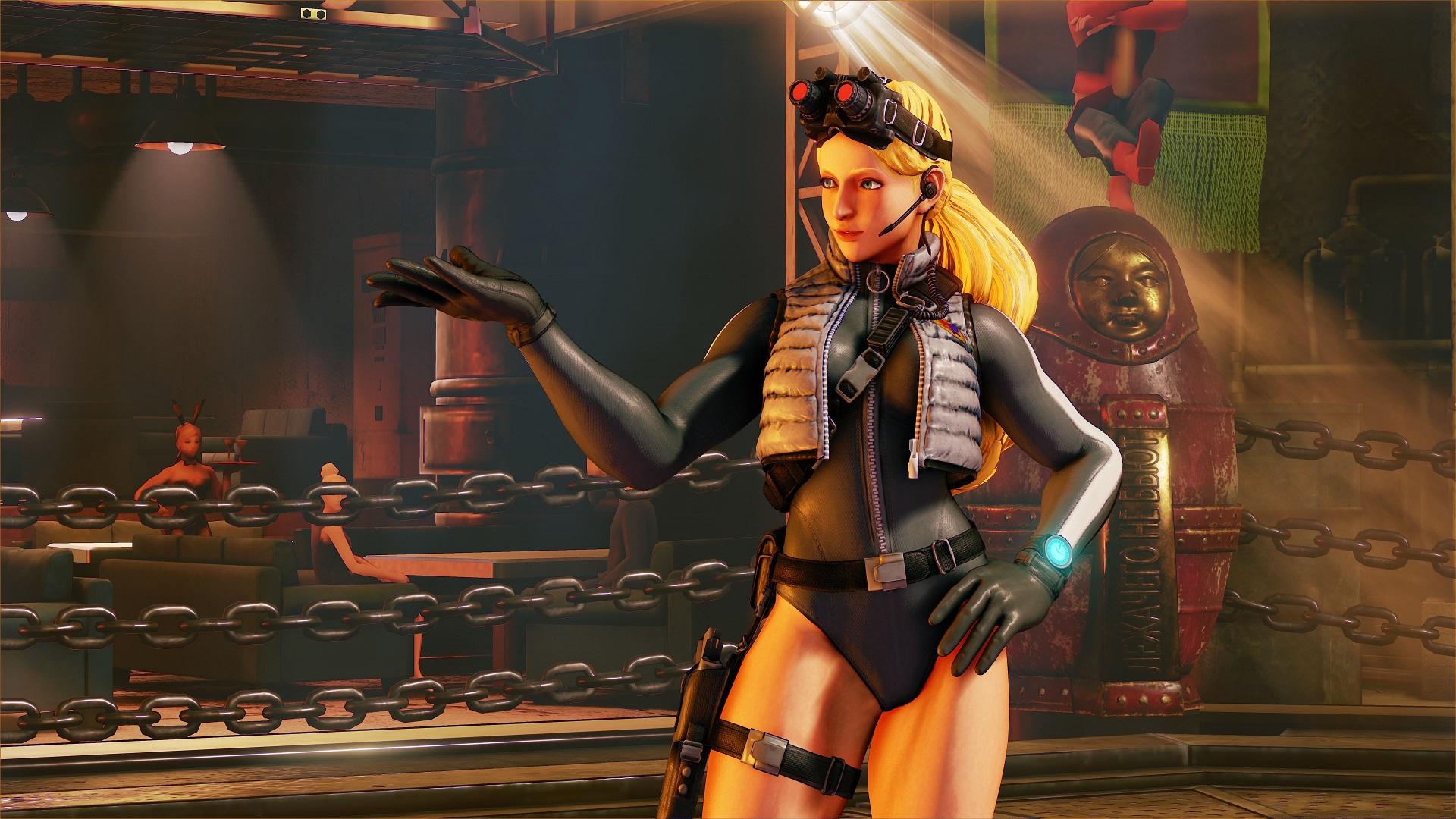 Kolin é a nova lutadora do Street Fighter V