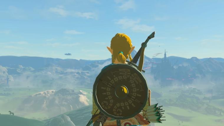 The Legend of Zelda: Breath of the Wild já está Gold