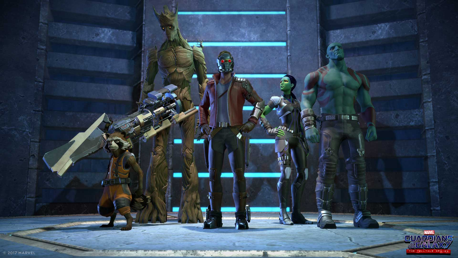 Trailer oficial para Guardians of the Galaxy: The Telltale Series