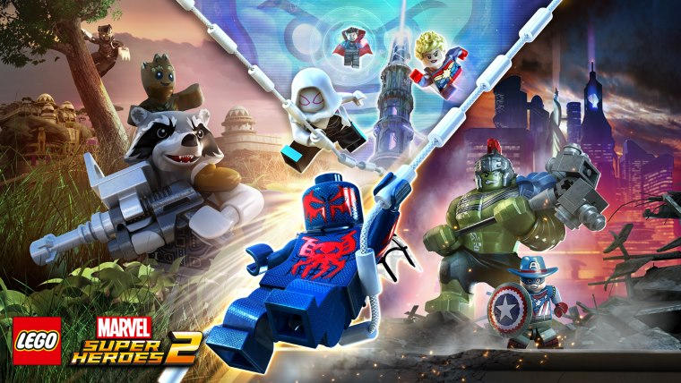 Trailer para LEGO Marvel Super Heroes 2