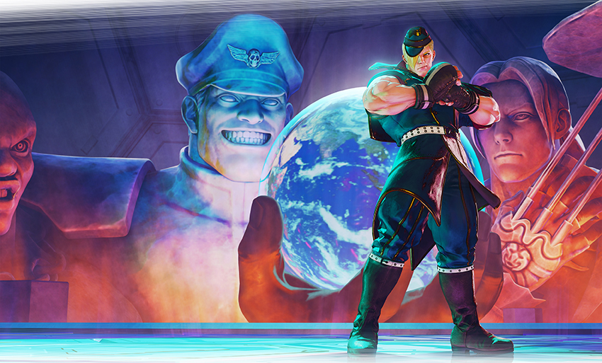 Ed, o clone de M. Bison, é a nova personagem de Street Fighter V