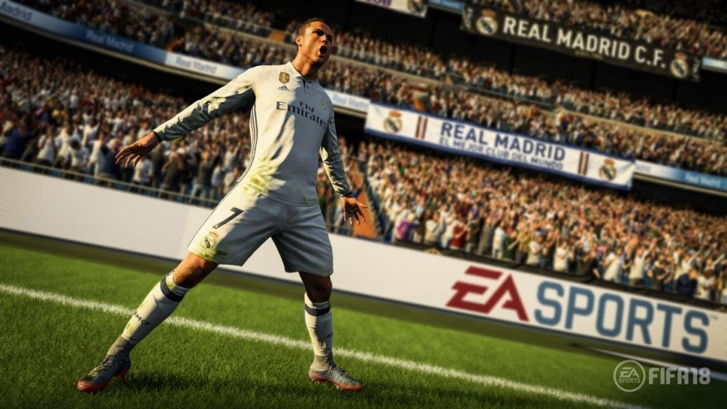Cristiano Ronaldo será estrela de capa de FIFA 18