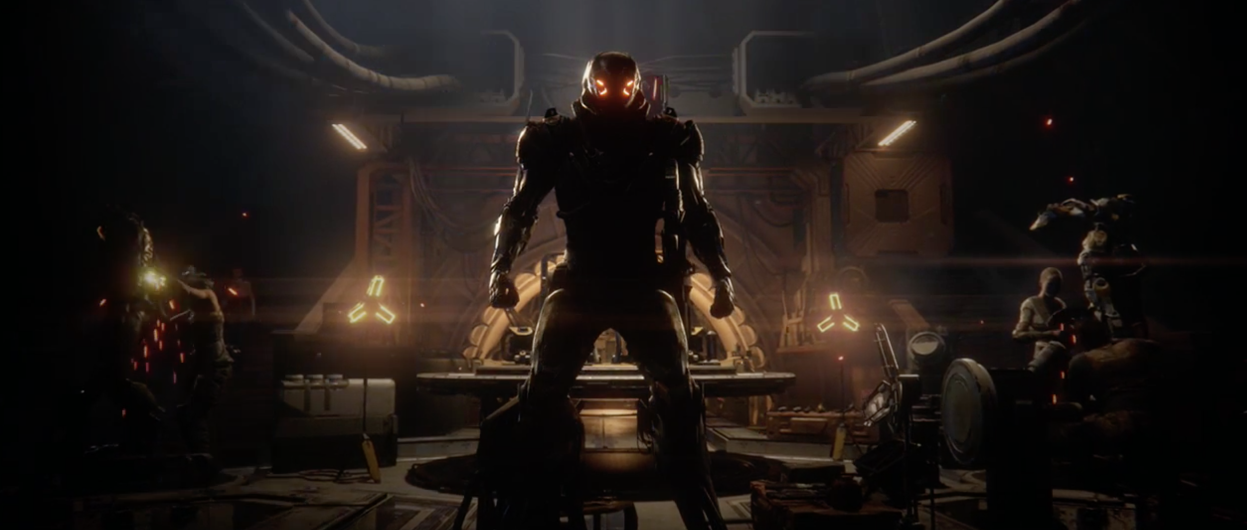 Electronic Arts revela Anthem, o novo jogo da Bioware