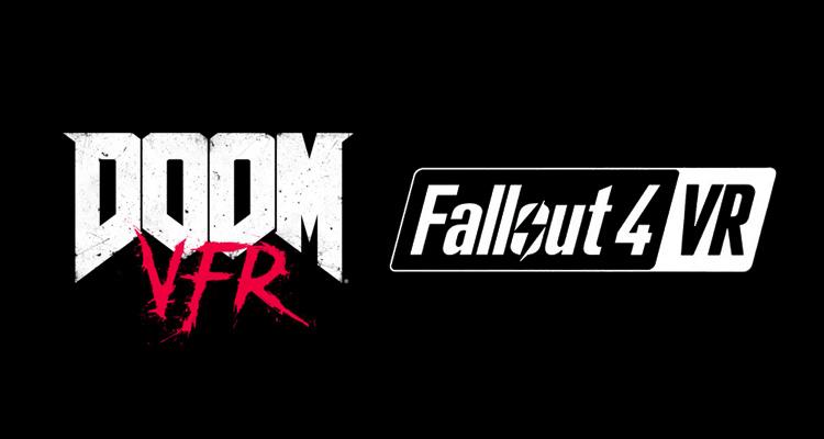 DOOM e Fallout 4 preparam-se para entrar na Realidade Virtual