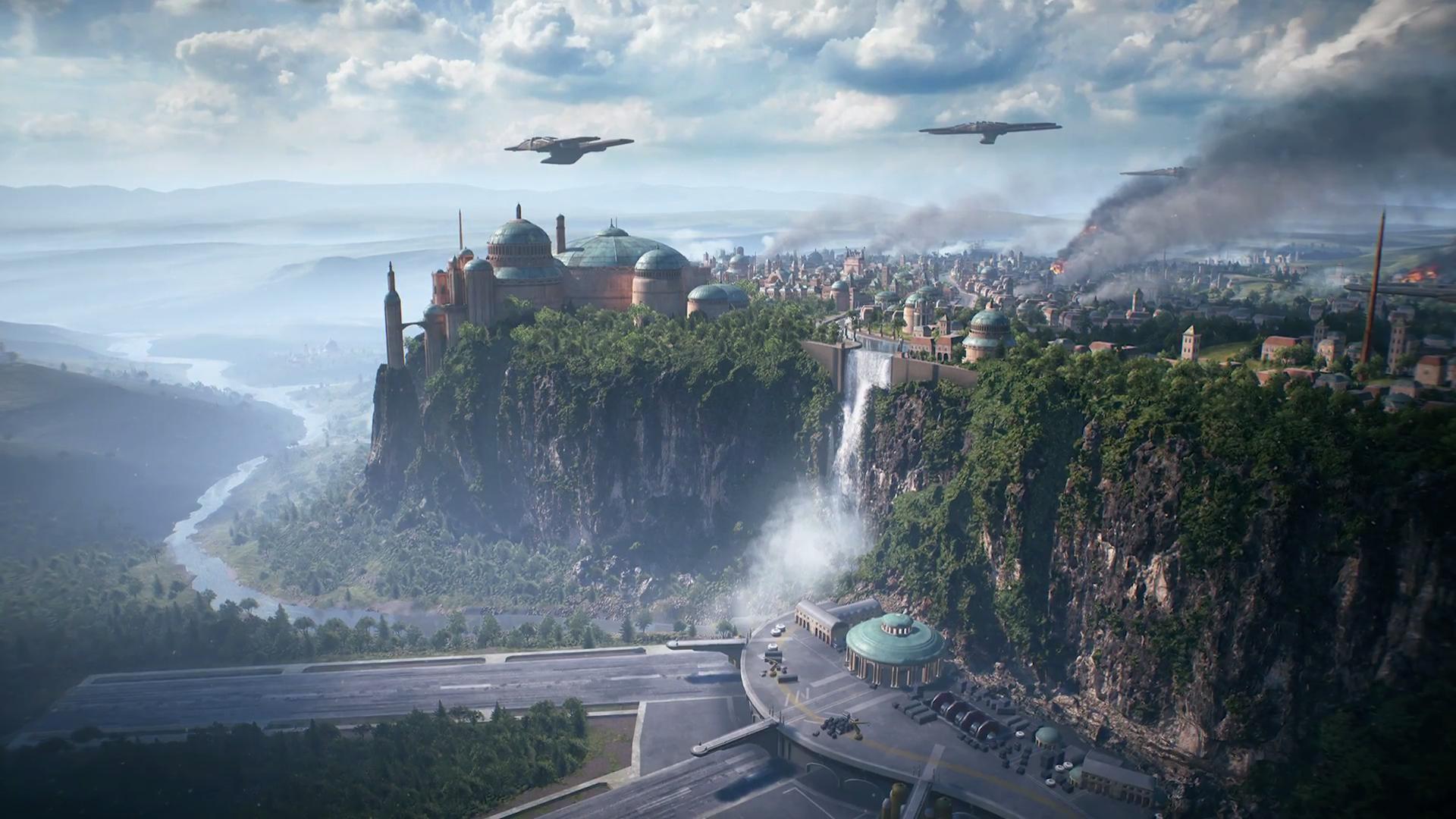 Conheçam o planeta Naboo de Star Wars Battlefront II