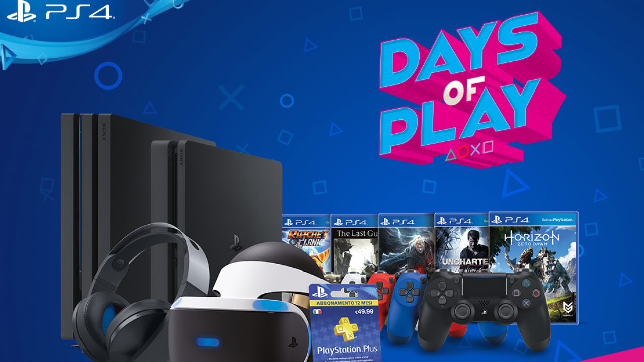 "Saldos ""Days of Play"" com grandes promoções na PlayStation"